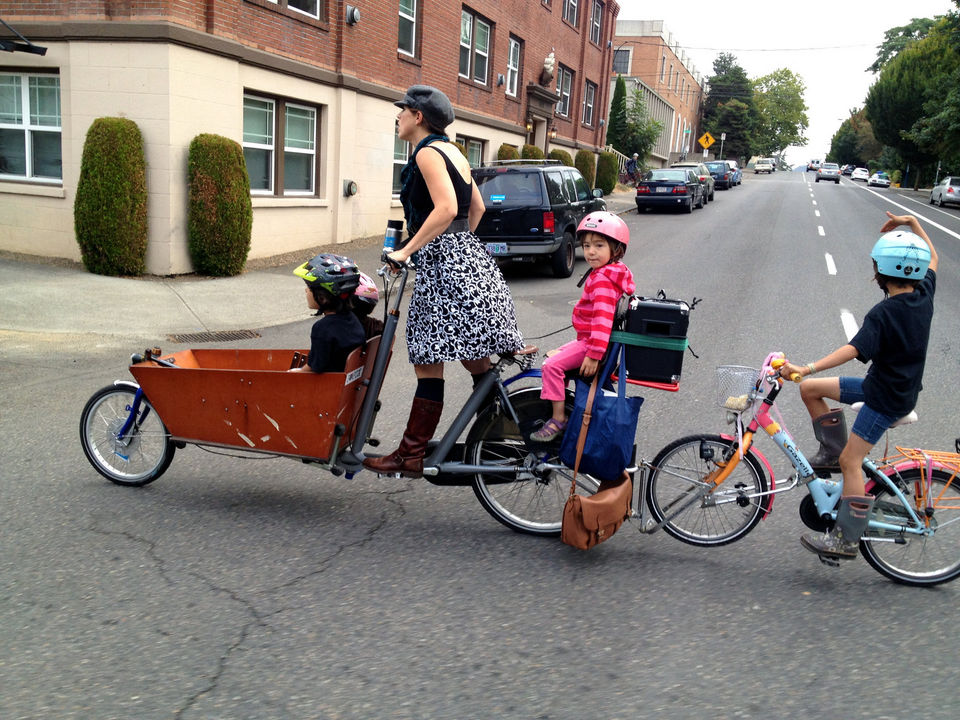 Portland is known as one of the most bicycle friendly cities